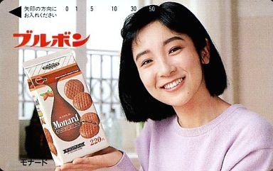 藤田朋子テレホンカードイメージ画像2