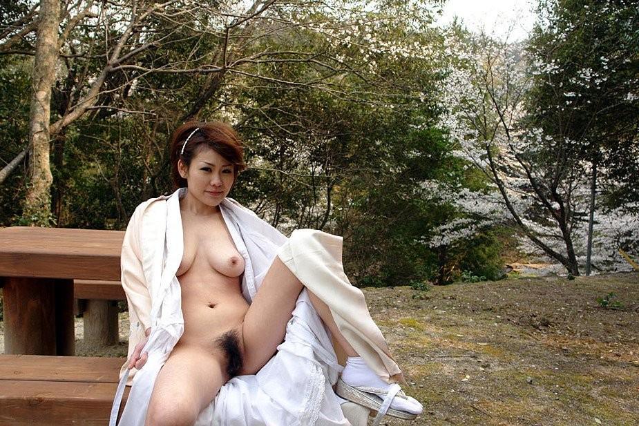 桜と写った露出画像4