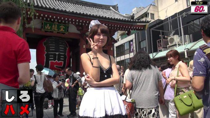 「これが日本のAVです!中国人留学生に涙の中出し○○連発!」キャプチャー4
