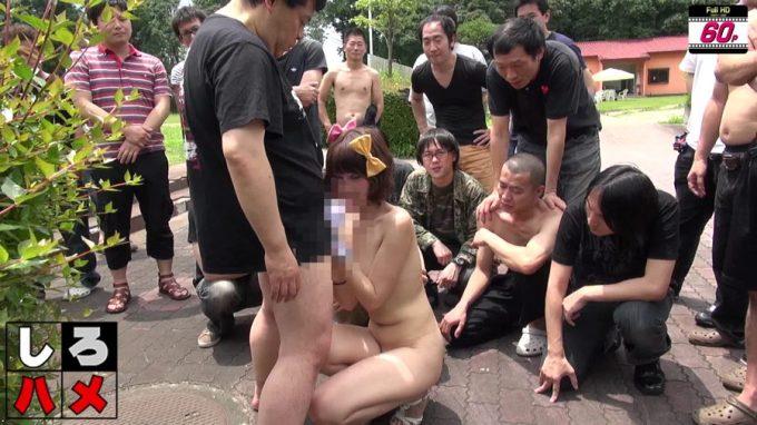 「これが日本のAVです!中国人留学生に涙の中出し○○連発!」キャプチャー12
